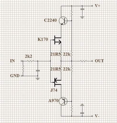 cascode放大器电路图